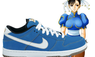 "Nike Dunk Low SB ""Chun Li"" Street Fighter Pack"