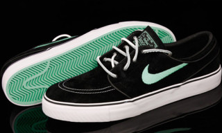 "Nike Zoom Stefan Janoski SB Black/Mint ""Diamond"" – A Detailed Look"