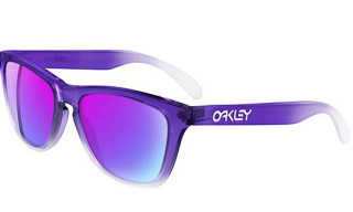 Oakley Frogskins Purple/Clear Fade