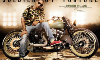 Pharrell Williams x Creative Cycles Custom Harley Davidson
