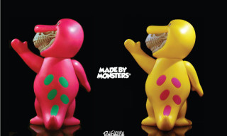 "Made by Monsters x Ron English T-Rex ""Barney Grin"" Release"