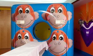 RxArt x Jeff Koons Art at Advocate Hope Children's Hospital