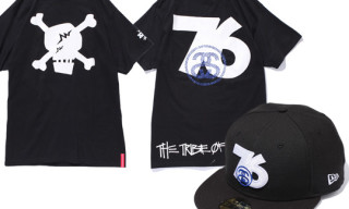 "Stussy x Whiz 30th Anniversary ""The Tribe of Whiz"" – New Era Cap and T-Shirt"
