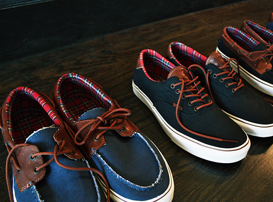 Pack Amp Zapato Highsnobiety Leather Vans And Era Del Canvas Barco Btxq65