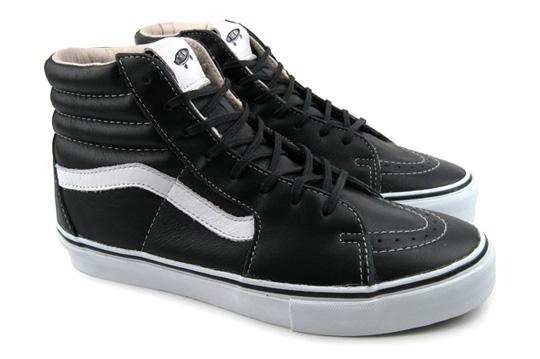 Vans Vault Black Leather Pack Fall 2010 Highsnobiety