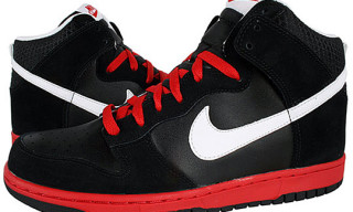 Nike Dunk High Icon – Black/Red