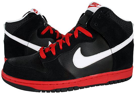 97add695ac Nike Dunks High Top Black Vans