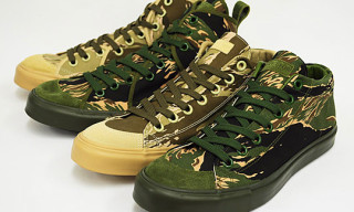Rhythm Footwear Bagel Camo Sneakers