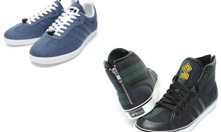 adidas Originals Fall 2010 Traffic Pack – Nizza Hi and Samba