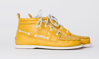 Band of Outsiders for Sperry Top-Sider Fall/Winter 2010 Nylon Chukka Boot Pack