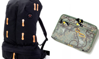 BBC/Ice Cream Mountaineering Softpack and Climbing Camo Laptop Case