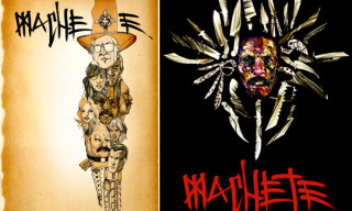 David Choe and Mister Cartoon Art for Machete