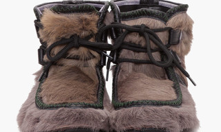 Dsquared2 Ankle Pony Fur Moccasin