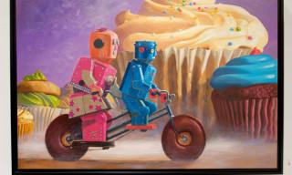 "Eric Joyners ""Donut Logic"" Exhibition at Corey Helford Gallery"