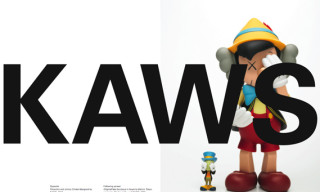 EXIT Magazine x Kaws – Cover and Editorial