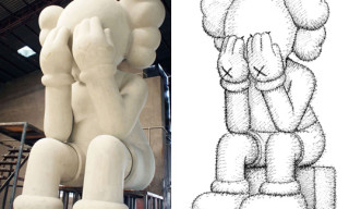 "Kaws ""Passing Through"" Exhibition at Harbour City Hong Kong Preview"