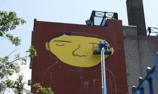 "Os Gemeos and Futura ""Giant Project"" NYC Preview"