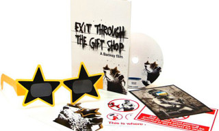 "Banksy ""Exit Through The Gift Shop"" DVD/Blu-ray"