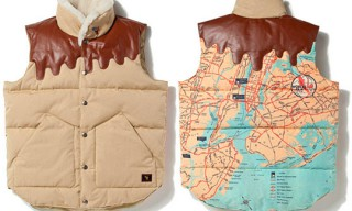 Billionaire Boys Club® SPACE BEACH WORLD FAIR DOWN VEST