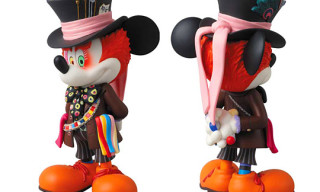 Disney x Medicom Toy Mickey Mouse as Mad Hatter