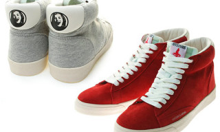 "Hysteric Glamour ""Make Me Smile"" Sneakers"