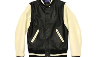 Junya Watanabe MAN x Vanson Leathers Varsity Jacket