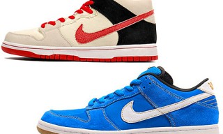 "Nike SB Street Fighter Pack – Dunk Low ""Chun Li"" & Dunk Mid ""Ryu"""
