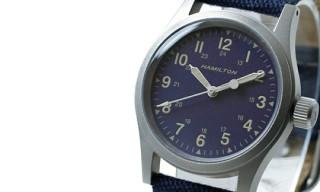 Ships x Hamilton Khaki Wrist Watch
