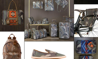 Trussardi 1911 Navajo Camouflage Spring/Summer 2011 Preview