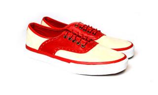 Vans Vault Spectator LX – Red/Cream