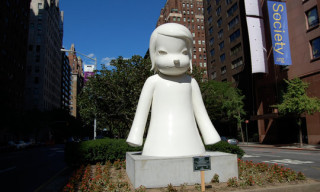 Yoshitomo Nara Statues in New York City