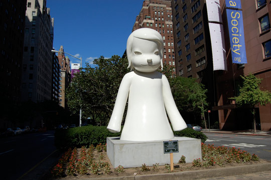 Yoshitomo Nara Statues In New York City Highsnobiety