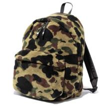 Fleece camo backpack