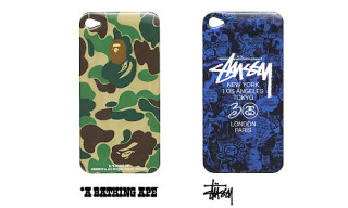 Zozo Design Project Vol. 02 – Bape and Stussy iPhone 4 Cases