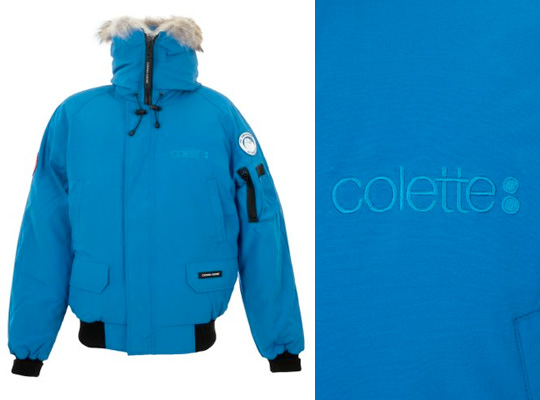 Canada Goose down outlet discounts - Canada Goose x colette Chilliwack Bomber Fall/Winter 2010 ...