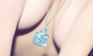 "Cool Cats x Cement ""Patte de Chat"" Necklace"