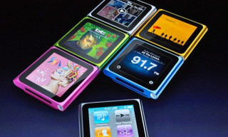 New iPod Nano featuring Touchscreen