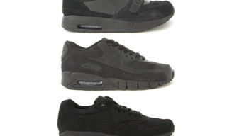 Nike Sportswear Air Max Black Pack Holiday 2010 – Air Maxim Trainer 1, Air Max 1, Air Max 90