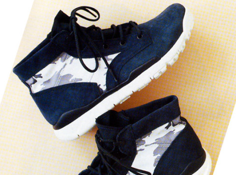 Another highlight from the Nike Sportswear Holiday 2010 Collection is a new  version of their SFB (Special Force Boot) boot – the SFB Chukka.