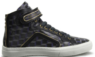 "Pierre Hardy High Top Sneaker ""Black Cube"" Fall/Winter 2010"