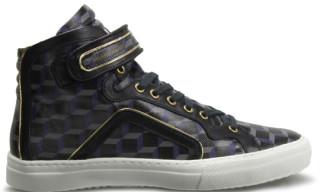 """Pierre Hardy High Top Sneaker """"Black Cube"""" Fall/Winter 2010"""