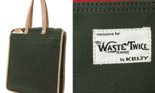 waste(twice) KELTY Canvas Tote Bag