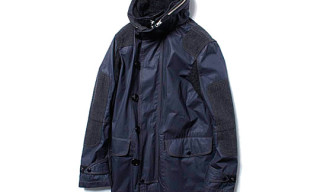 Comme des Garcons Junya Watanabe MAN Army Cloth Hooded Coat