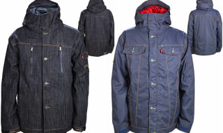 Levi's x 686 Holiday 2010 Collection