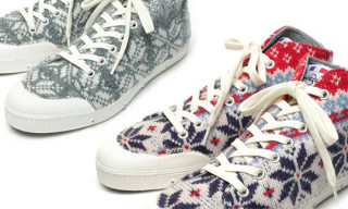 Spring Court B1 Snow Wool Sneakers
