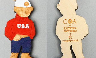 Supply Circuit x COA x GoodWoodNYC Bear Necklace