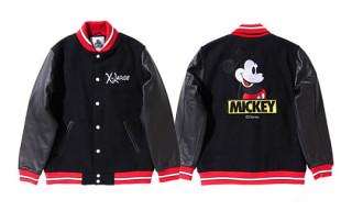 XLARGE x Disney Mickey Mouse Stadium Jacket
