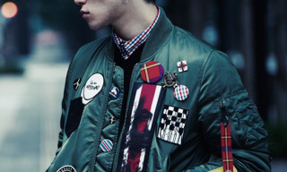 "Swagger x Alpha MA-1 Jacket ""Patches"" Holiday 2010"