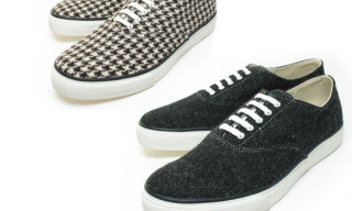 Beauty & Youth x Sperry Top-Sider x Harris Tweed Sneakers