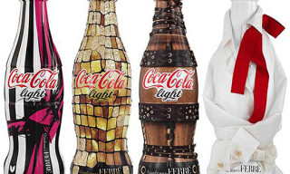 Gianfranco Ferre Coca-Cola Light Bottles